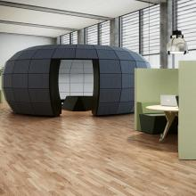 Igloo, Design: Design by Aart Architects, Spaces by Holmris.